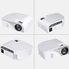 RD-805B 960*640 1200 Lumens Portable Mini LED Projector Home Theater with Remote Controller ,Support USB + VGA + HDMI + AV + TV(White)