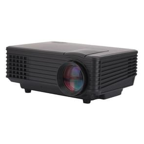 RD-805 800LM 800x480 Home Theater LED Projector with Remote Controller, Support HDMI, VGA, AV, USB Interfaces(Black)