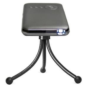 Weijoy DL-S6+ 1000 Lumens 854x480 Smart Mini Projector, RK3128 CPU, 1GB+16GB, Android 4.4, blauwtooth, WiFi, HDMI(grijs)