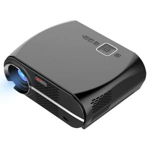 GP100 1280x800 Home Theater LED Projector with Indicator light, Support HDMI & AV & USB Devices(Black)
