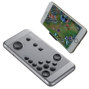 MOCUTE-055 Portable Bluetooth Wireless Game Controller with Phone Clip for Android / iOS Devices / PC(Grey)