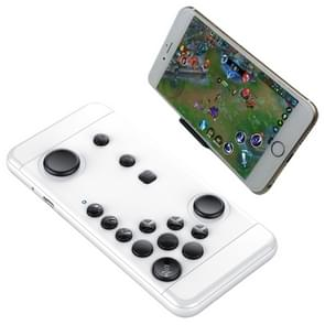 MOCUTE-055 Portable Bluetooth Wireless Game Controller with Phone Clip for Android / iOS Devices / PC(White)