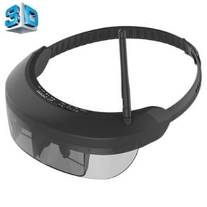 VISION-730S 5.8GHz 40CH Wireless FPV Glasses 98 inch Private Virtual Theater Monocular Video Glasses Display with 8GB Memory, Support 1080P Video & Music & Picture & E-book & TF Card & AV-IN Play