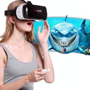 VR CASE RK-6TH Virtual Reality 3D Glasses with Bluetooth Remote Control for iPhone, Samsung, Huawei, Xiaomi, 4.7 inch - 6 inch Android & iOS Smartphone