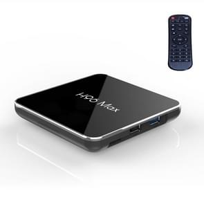 H96 Max X2 Ultra HD  Media Player Smart TV BOX with Remote Controller, Android 8.1, Amlogic S905X2 Quad Core ARM Cortex A53 up to 2.0GHz, 4GB+32GB, Support TF Card, HDMI,USB 3.0/2.0, AV, WiFi