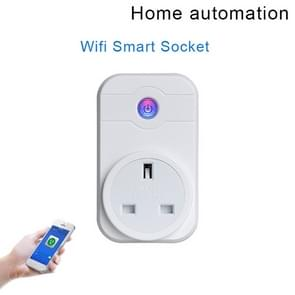 Alexa SWA1 10A Home Automation Wireless Smart WiFi Socket, Support Smartphone Remote Control & Timing Switch, UK Plug
