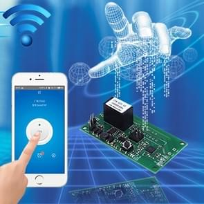 Sonoff SV 10A Single Channel WiFi Wireless Remote Timing Smart Switch Relay Module Works with Alexa and Google Home, Support iOS and Android, DC 5V-24V