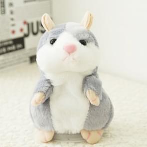 3 PCS Educational Toys Cartoon Hamster Cute Become Sound Recording Voles Children Birthday Gift, Random Kleur Delivery, Afmeting: 15*8*8cm