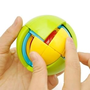 Educational 3D Disassembly Intelligence Ball, Diameter: 6.7cm, Color Random Delivery