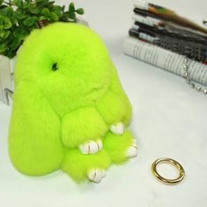 Lovely Dead Rex Rabbit Doll Pendant for Bag / Key Chains / Car ,Size: 15.0 x 14.0 x 8.0cm(Green)