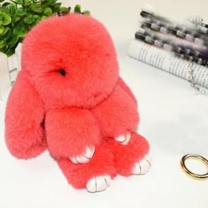 Lovely Dead Rex Rabbit Doll Pendant for Bag / Key Chains / Car ,Size: 15.0 x 14.0 x 8.0cm(Red)