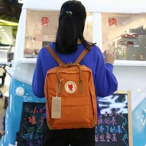 Outdoor Casual Academic Style Student School Canvas Backpack, Size: 7L(Orange)