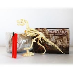 Assembled Tyrannosaurus Skeleton Archaeological Excavation Toys Simulation Fossil Model Manual Toys
