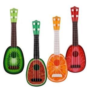 2 PCS Children Music Enlightenment Ukuleles, Size: 36.5*11.5cm, Random Color Delivery
