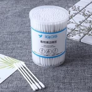 E-cigarette Double Heads Cleaning Cotton Swab for IQOS