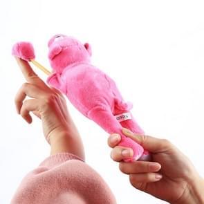 Slingshot Flingshot Flying Screaming Roze Pig Plush Toy