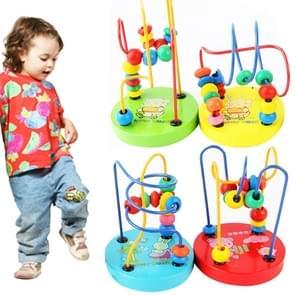 Educational Baby Kids houten Around Beads Toy Toddler Infant Intelligence Toys