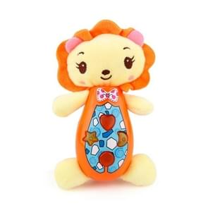 Brettbble Cartoon Plush Lion Appease Infants Plush Baby Musical Toys Animal Dolls