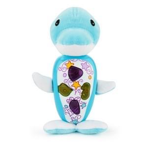 Brettbble Cartoon Plush Dolphin Appease Infants Plush Baby Musical Toys Animal Dolls