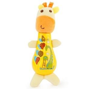 Brettbble Cartoon Plush Giraffe Appease Infants Plush Baby Musical Toys Animal Dolls