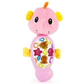Brettbble Cartoon Plush Seahorse Appease Infants Plush Baby Musical Toys Animal Dolls