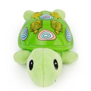 Brettbble Cartoon Plush Turtle Appease Infants Plush Baby Musical Toys Animal Dolls