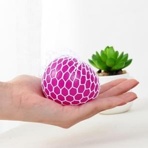12 PCS 7cm 4-Color Anti-Stress Face Reliever Grape Ball Extrusion Mood Squeeze Relief Healthy Funny Tricky Vent Toy