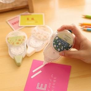 30m Super-long Floral Correction Tape Material Escolar Stationery Office School Supplies, Random Color Delivery