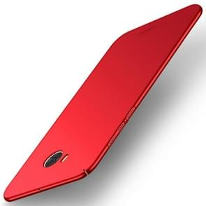 MOFI voor HTC U11 Life Frosted PC ultra-dun Edge Fully Wrapped beschermings Back Cover hoesje(rood)