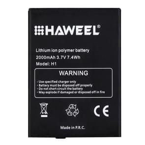 orgineel HAWEEL H1 Oplaadbare 2000mAh Li-ion Polymer Batterij