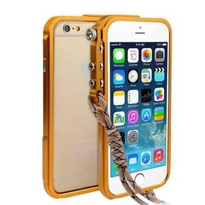 For iPhone 6 & 6s Aviation Aluminum Bumper Frame (Yellow)