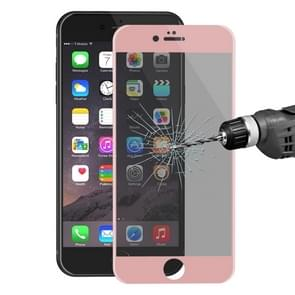 ENKAY Hat-Prince for iPhone 6 & 6s 0.26mm 9H Surface Hardness 3D Ultra-thin Carbon Fiber Privacy Anti-glare Full Screen Tempered Glass Protective Film (Rose Gold)