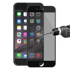 ENKAY Hat-Prince for iPhone 6 Plus & 6s Plus 0.26mm 9H Surface Hardness 3D Ultra-thin Carbon Fiber Privacy Anti-glare Full Screen Tempered Glass Protective Film(Black)