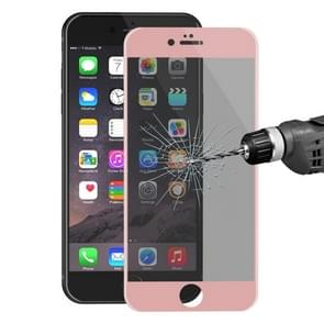 ENKAY Hat-Prince for iPhone 6 Plus & 6s Plus 0.26mm 9H Surface Hardness 3D Ultra-thin Carbon Fiber Privacy Anti-glare Full Screen Tempered Glass Protective Film(Rose Gold)