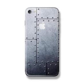 For iPhone 7 Rivet Pattern Back Protector DIY Decal Skin Adhesive Sticker
