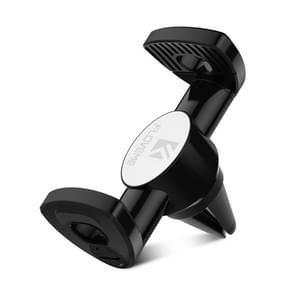 FLOVEME Car Air Outlet Mount 360 Degree Rotation Bracket Phone Holder, For iPhone, Galaxy, LG, Lenovo, HTC, Huawei and other 3.5-6 inch Smartphones (Black)