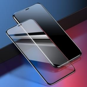 Baseus 0.2mm 9H Curved Full Screen Tempered Glass Film for iPhone XS Max (Black+Transparent)