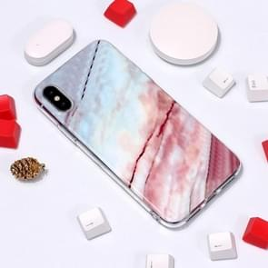Marble Pattern TPU Soft Protective Case For  iPhone XS Max (Fresh)