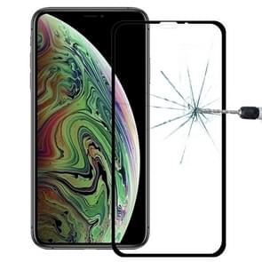 9H 10D Full Screen Tempered Glass Screen Protector for  iPhone XS Max (Black)