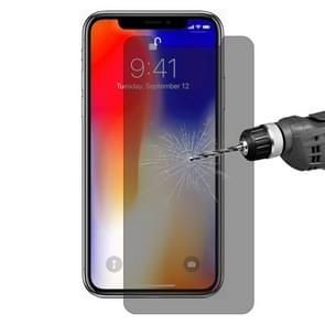 ENKAY Hat-Prince 0.26mm 9H 2.5D Privacy Anti-glare Tempered Glass Film for iPhone XS Max