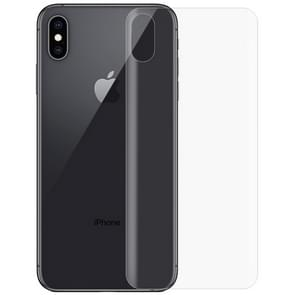 0.1mm 3D Curved Edge HD PET Back Full Screen Protector for iPhone XS Max