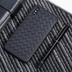 Benks TPU Knitting Leather Surface Case for iPhone XS Max (Black)