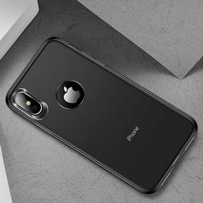 TOTUDESIGN Frosted TPU Case for  iPhone XS Max  6.5 inch (Black)