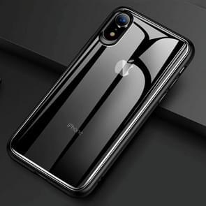 TOTUDESIGN Ultra-thin TPU + PC + Mirror Case for  iPhone XS Max (Black)