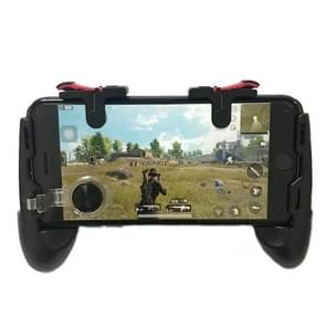 4 in 1 D9 Eats Chicken to Assist the Jedi Survival Stimulation Battlefield Mobile Handle Grip Gamepads, For iPhone, Galaxy, Sony, HTC, LG, Huawei, Xiaomi, Tablet Pad Button and other Smartphones