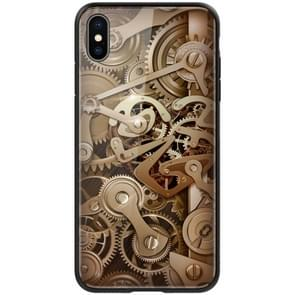 NILLKIN Mechanical Style Pattern Tempered Glass Case for iPhone XS Max