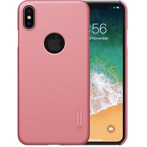 NILLKIN Frosted Concave-convex Texture PC Case for iPhone XS Max (Rose Gold)