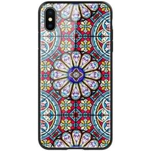 NILLKIN Exquisite Art Pattern Tempered Glass Case for iPhone XS Max