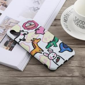 Pattern Shockproof TPU Case for iPhone XS Max
