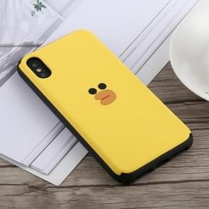 Slide Bumper Double Layer Shockproof TPU + PC Case for iPhone XS Max